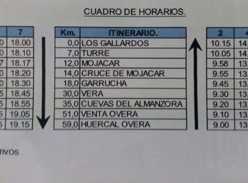 horarios bus