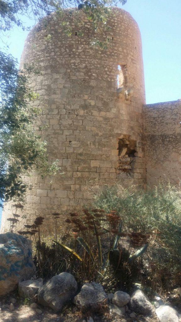 Castillo de la Cala de San Pedro.