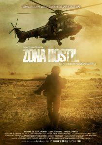 "Cartel de ""Zona Hostil"""