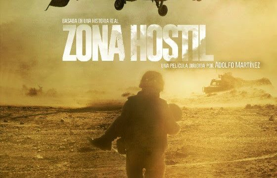 "Cartel de ""Zona Hostil"""
